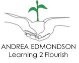 Andrea Edmondson Learning 2 Flourish logo